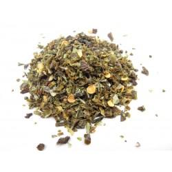 Paprika sweet green granules