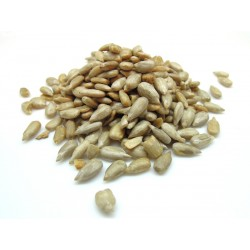 Sunflower seeds shelled